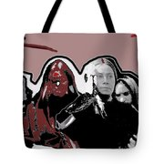 Distraught Woman Mexico City C.1914-2014 Tote Bag