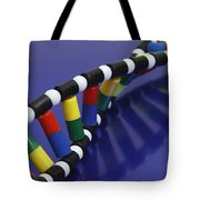 Dna Double Helix Tote Bag