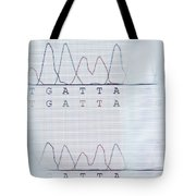 Dna Sequencing Tote Bag