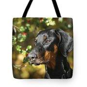 Dobermann Dog Tote Bag