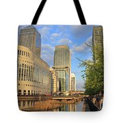 Docklands London Tote Bag