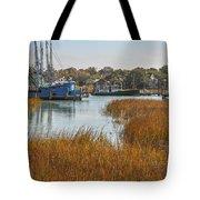 Dockside Paradise Tote Bag