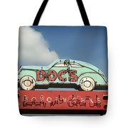 Doc's Bar And Grill Tote Bag