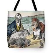 Dodgson: Looking Glass Tote Bag