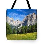 Dolomites - Catinaccio Mount Tote Bag
