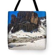 Dolomites - Pisciadu Peak Tote Bag