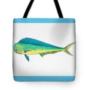 Dolphin Fish Tote Bag
