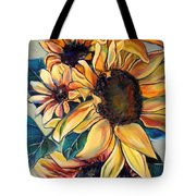 Dooley's Sunflowers Tote Bag