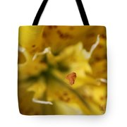Double Asiatic Lily Named Fata Morgana Tote Bag