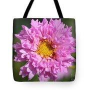 Double Click Cosmos Named Rose Bonbon Tote Bag