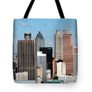 Downtown Atlanta Tote Bag