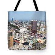 Downtown Atlantic City Tote Bag