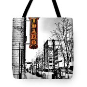 Downtown Boise Tote Bag