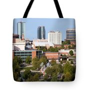 Downtown Knoxville Tennessee Skyline Tote Bag