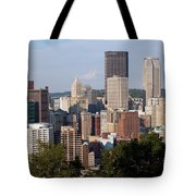 Downtown Skyline Of Pittsburgh Pennsylvania Tote Bag