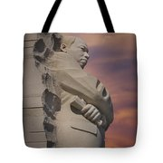 Dr. Martin Luther King Jr Memorial Tote Bag