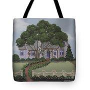 Dragonfly Cottage Tote Bag
