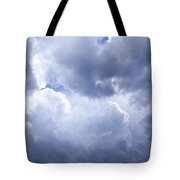 Dramatic Cloudy Sky Tote Bag