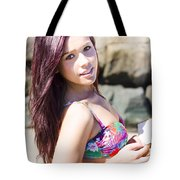 Dreamy Holiday Tote Bag