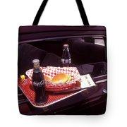 Drive-in Coke And Burgers Tote Bag