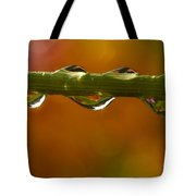 Droplets Tote Bag
