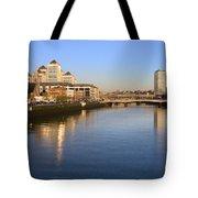 Dublin At Dawn Tote Bag