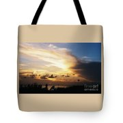 Sunset At Ducks Puddle, Bermuda Tote Bag