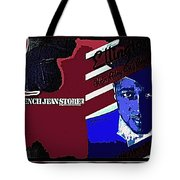 Duke Ellington And The French Jean Store Collage Coney Island New York 1977-2012 Tote Bag