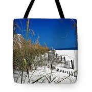 Dune Fence Me In Tote Bag