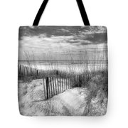 Dune Fences Tote Bag