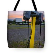 Dusk At The Drive In Movie Tote Bag