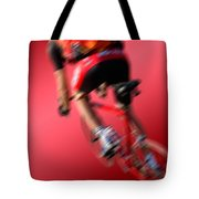 Dynamic Racing Cycle Tote Bag