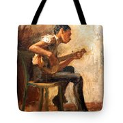 Eakins' Study For Negro Boy Dancing -- The Banjo Player Tote Bag