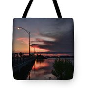 Early Morning View Tote Bag