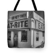 Eat Rite Diner Route 66 Tote Bag