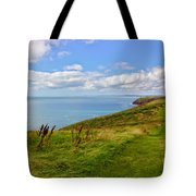 Edge Of The World Tote Bag by Jeremy Hayden