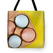 Eggs Tote Bag by Tom Gowanlock