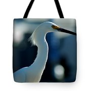 Egret Of Matlacha 2 Tote Bag