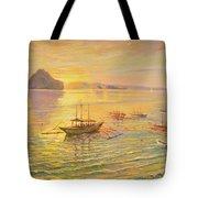 El Nido Sunrise Tote Bag