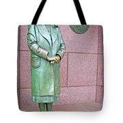 Eleanor Roosevelt -- 1 Tote Bag by Cora Wandel