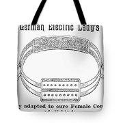Electric Belt Ad Tote Bag