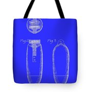 Electric Razor Patent 1939 Tote Bag