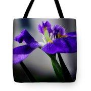 Elegant Iris Tote Bag