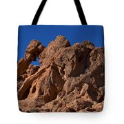 Elephant Rock Valley Of Fire State Park Nevada Tote Bag