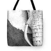 Elephant Study Tote Bag