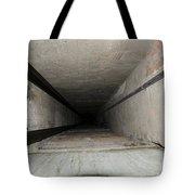 Elevator Shaft Tote Bag