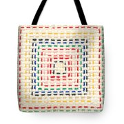 Embroidery Made By A Child Tote Bag by Kerstin Ivarsson