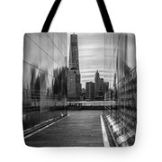 Empty Sky Memorial And The Freedom Tower Tote Bag