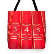 Encyclopedia Tote Bag