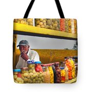 Ensenada Olive Stand 04 Tote Bag